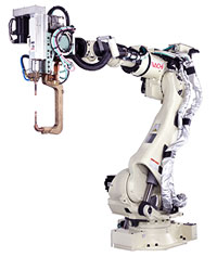 NACHI ROBOT SRA SERIES - SPOT WELDING SRA166