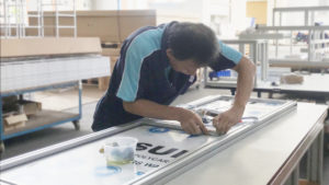 Production - assembly in intermech